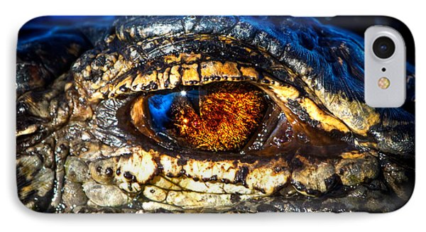 Eye Of The Apex IPhone Case by Mark Andrew Thomas
