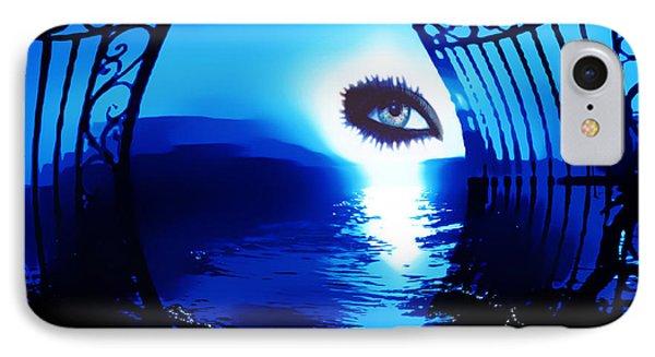 Eye Of The Beholder IPhone Case by Eddie Eastwood