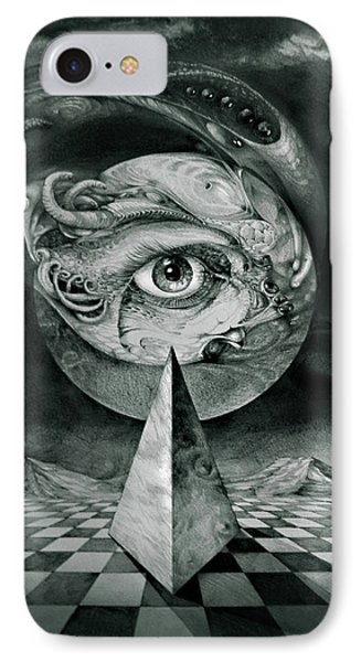 Eye Of The Dark Star Phone Case by Otto Rapp