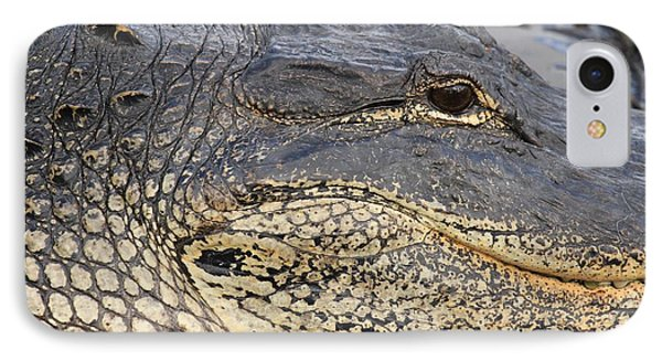 Eye Of The Gator Phone Case by Adam Jewell