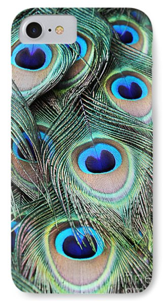 IPhone Case featuring the photograph Eye Of The Peacock #2 by Judy Whitton
