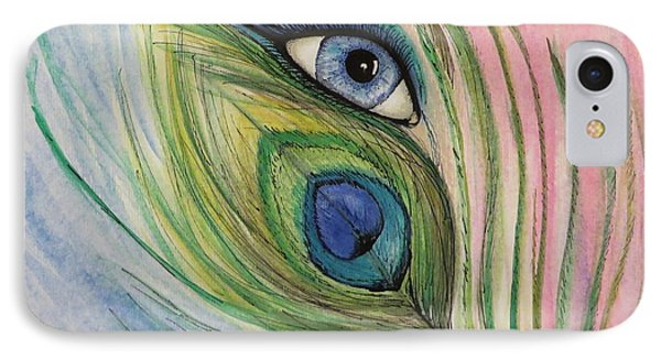 Eye Of The Peacock IPhone Case