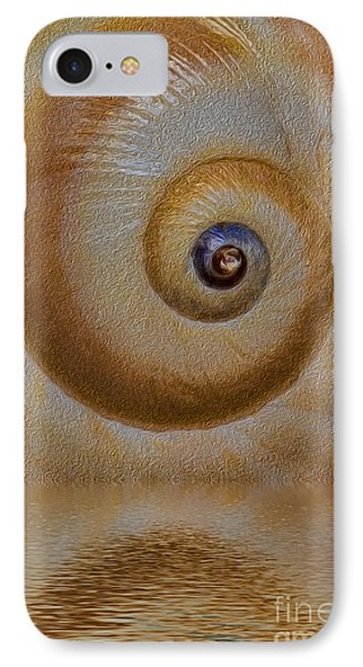 Eye Of The Snail Phone Case by Susan Candelario