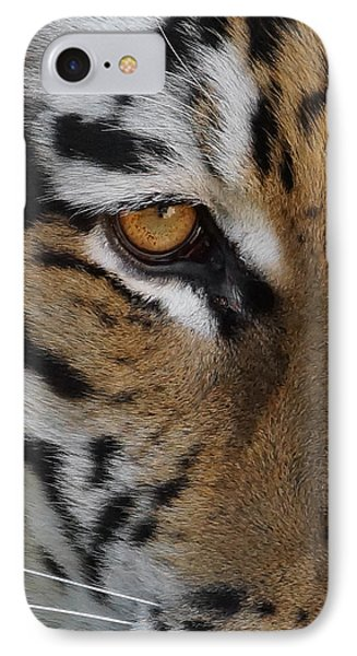 Eye Of The Tiger Phone Case by Ernie Echols