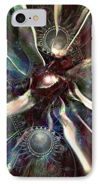 Eye Of The Universe Phone Case by Linda Sannuti