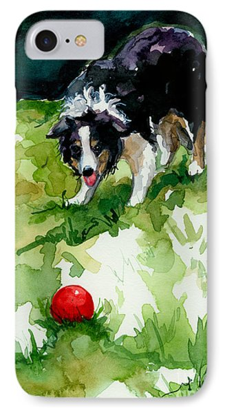 Eye On Tthe Ball IPhone Case by Molly Poole