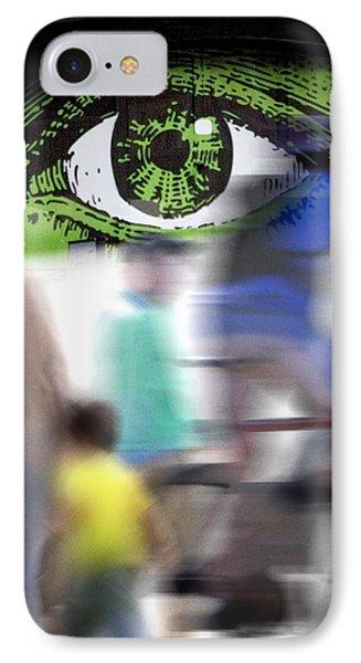 Eye Spy IPhone Case by Richard Piper