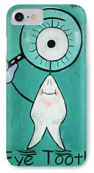 Eye Tooth  IPhone Case