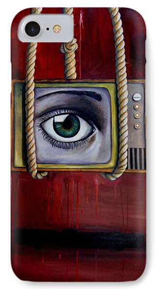 Eye Witness Phone Case by Leah Saulnier The Painting Maniac