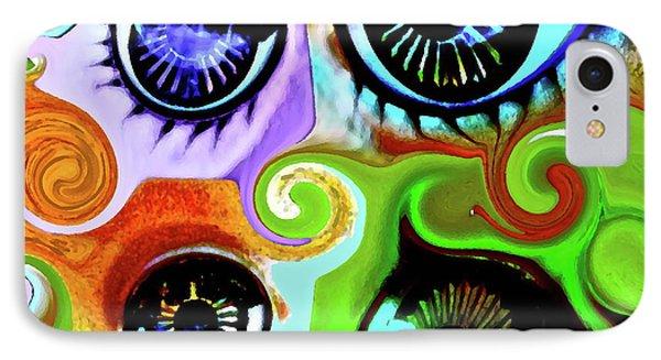 Eyecandy Phone Case by Gwyn Newcombe