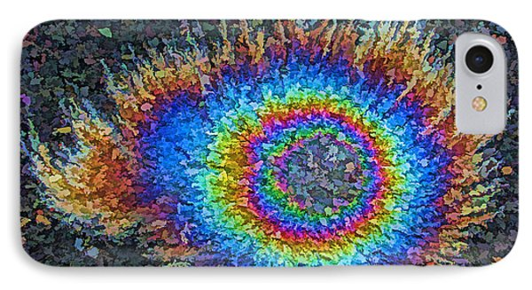 Eyelash Nebula IPhone Case by Samuel Sheats