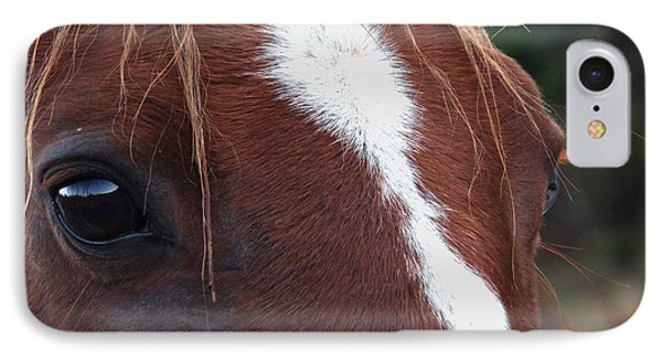 IPhone Case featuring the photograph Eyes Are The Windows To The Soul by Peggy Collins