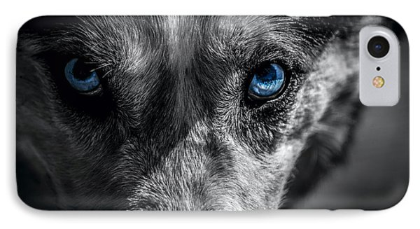 Eyes In The Darkness IPhone Case