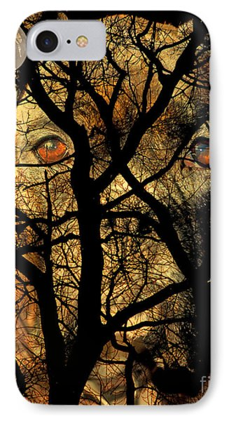 Eyes In The Sky Phone Case by Judy Wood