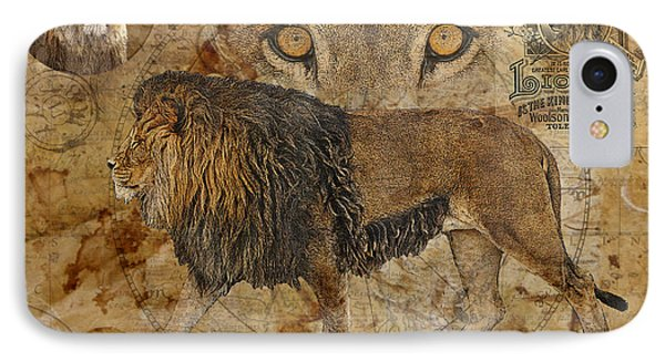 Eyes Of Africa Phone Case by Judy Wood