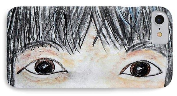 Eyes Of Love Phone Case by Eloise Schneider