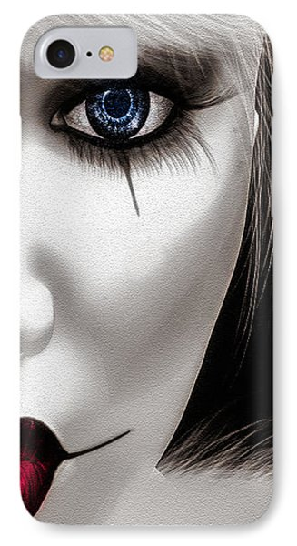 Eyes Of The Fool Phone Case by Bob Orsillo