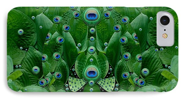 Eyes Of The Hidden Peacock IPhone Case