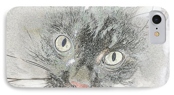 IPhone Case featuring the photograph Eyes Speak Volumes by Rhonda McDougall