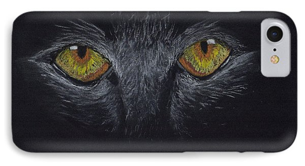 Eyes IPhone Case by Zilpa Van der Gragt