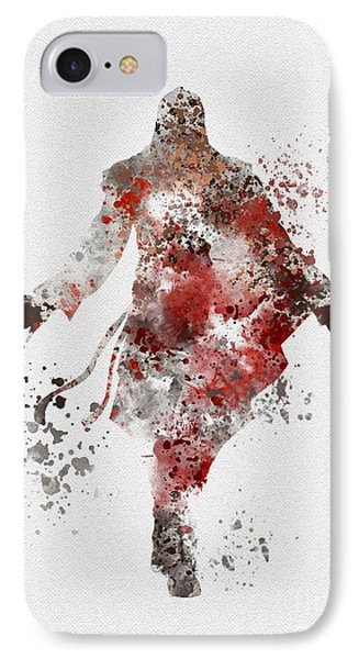 Ezio  IPhone Case by Rebecca Jenkins