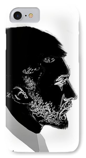 IPhone Case featuring the digital art Ezra Pound  by Asok Mukhopadhyay