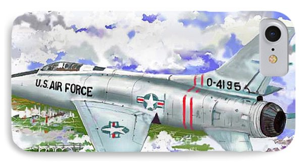 F-100 D Super Sabre IPhone Case