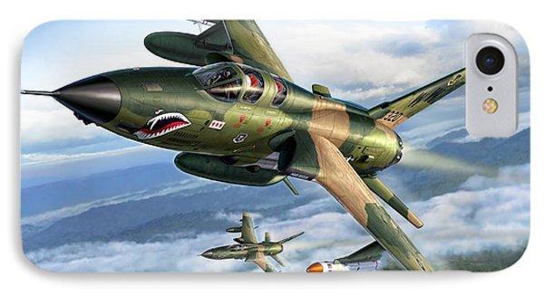 F-105g Wild Weasels IPhone Case