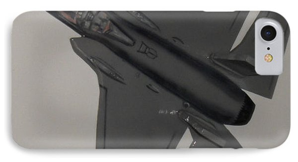 F-35 Flying IPhone Case by Val Oconnor
