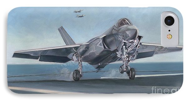 F-35c Carrier Landing IPhone Case