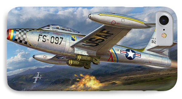 F-84e Thunderstrike IPhone Case