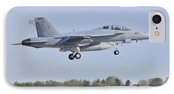 IPhone Case featuring the photograph F/a-18e/f Super Hornet by Dan Myers