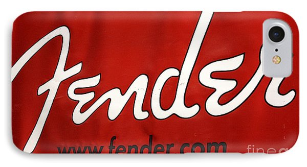 F E N D E R IPhone Case by David Bearden