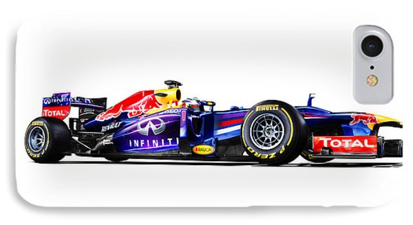 IPhone Case featuring the photograph F1 Red Bull Rb9 by Gianfranco Weiss