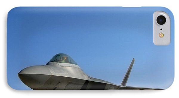 F22 Raptor  Phone Case by Olivier Le Queinec