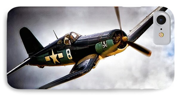 F4u Corsair 'jolly Roger Jump' IPhone Case