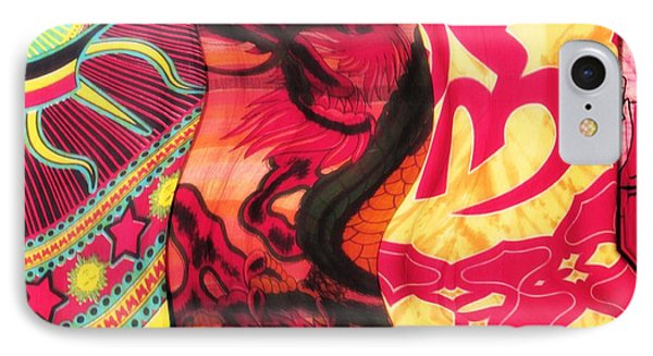Fabric Collision IPhone Case by Alec Drake