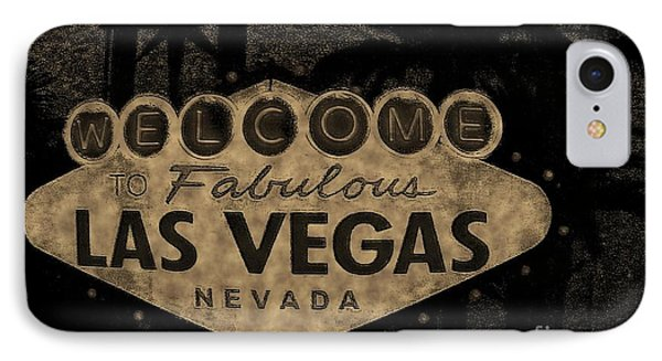 Fabulost Vegas Spelling Correct Phone Case by John Malone