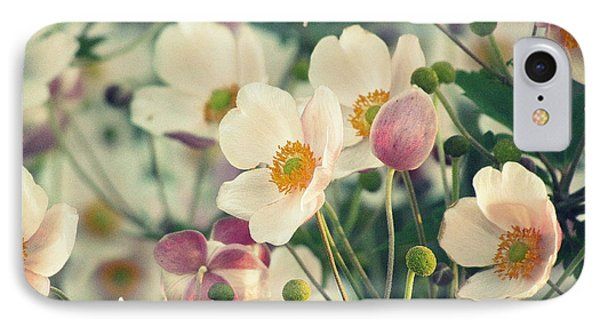 Fabulous  Anemones IPhone Case by France Laliberte