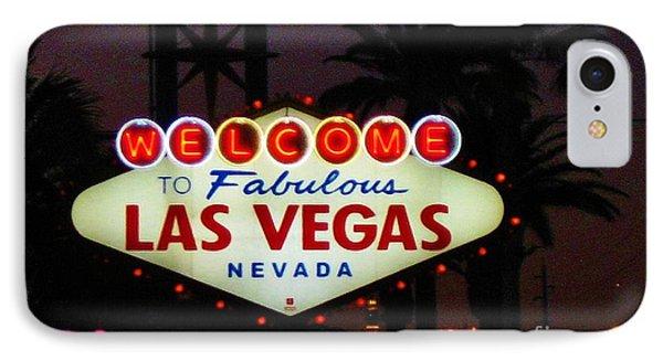 Fabulous Las Vegas Phone Case by John Malone