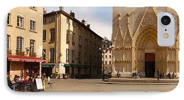 Facade Of A Cathedral, St. Jean IPhone Case by Panoramic Images