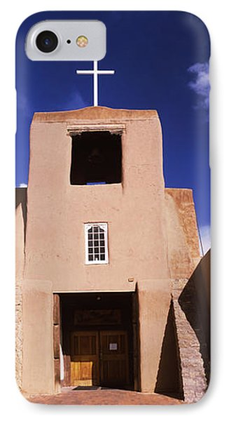 Facade Of A Church, San Miguel Mission IPhone Case by Panoramic Images