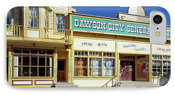 Facade Of A General Store, Dawson IPhone Case by Panoramic Images