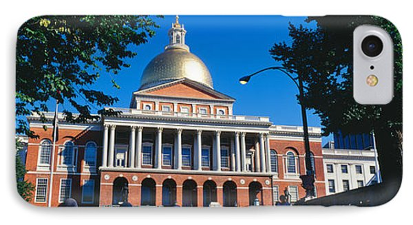 Facade Of A Government Building IPhone Case by Panoramic Images