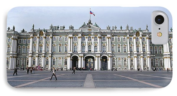 Facade Of A Museum, State Hermitage IPhone Case by Panoramic Images