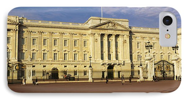 Facade Of A Palace, Buckingham Palace IPhone Case by Panoramic Images