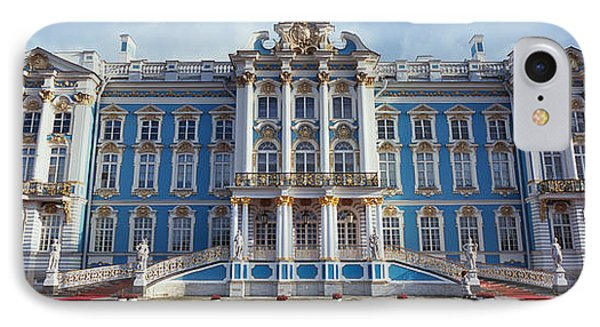 Facade Of A Palace, Catherine Palace IPhone Case by Panoramic Images