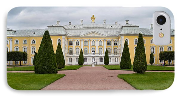 Facade Of A Palace, Peterhof Grand IPhone Case by Panoramic Images