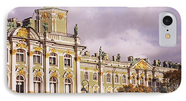 Facade Of A Palace, Winter Palace IPhone Case by Panoramic Images
