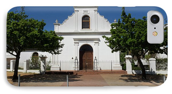 Facade Of Rhenish Mission Church IPhone Case by Panoramic Images